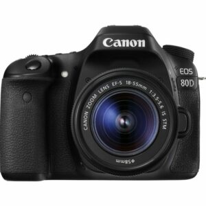Canon EOS 80D With 18-55mm IS STM And 55-250 IS STM