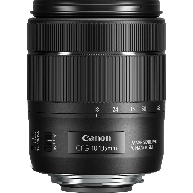 Canon EF-S 18-135mm f/3.5-5.6 IS USM Nano Lens