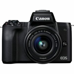 Canon EOS M50 4K Mirrorless Camera with EF-M 15-45mm Lens