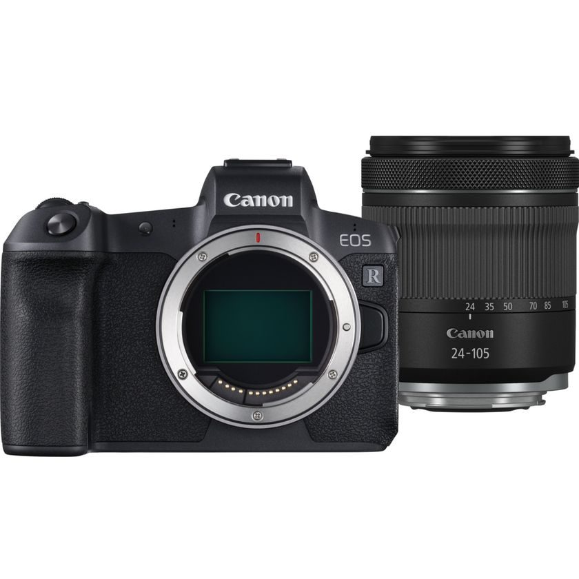 Canon EOS R + RF 24-105mm IS STM + EOS R Adapter