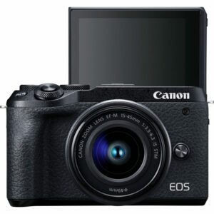 Canon EOS M6 Mark II + 15-45mm IS STM + 55-200mm IS STM