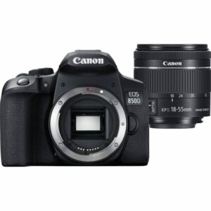 Canon EOS 850D With EF-S 18-55mm IS STM Lens