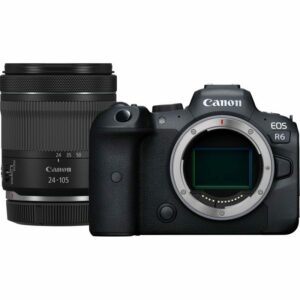 Canon EOS R6 8K With RF 24-105mm IS STM Lens