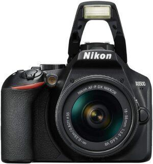 NIKON D3500 DSLR With AF-P DX 18-55mm VR