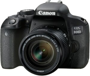 Canon EOS 800D With 18-55mm IS STM Lens