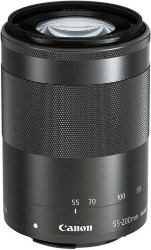 Canon EF-M 15-45mm f3.5-6.3 IS STM Lens - Black