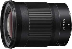 Nikon Nikkor Z 24mm f1.8 S Lens