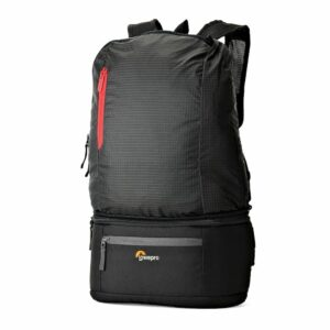 Lowepro Passport Duo, Black Lightweight Camera waist bag and backpack