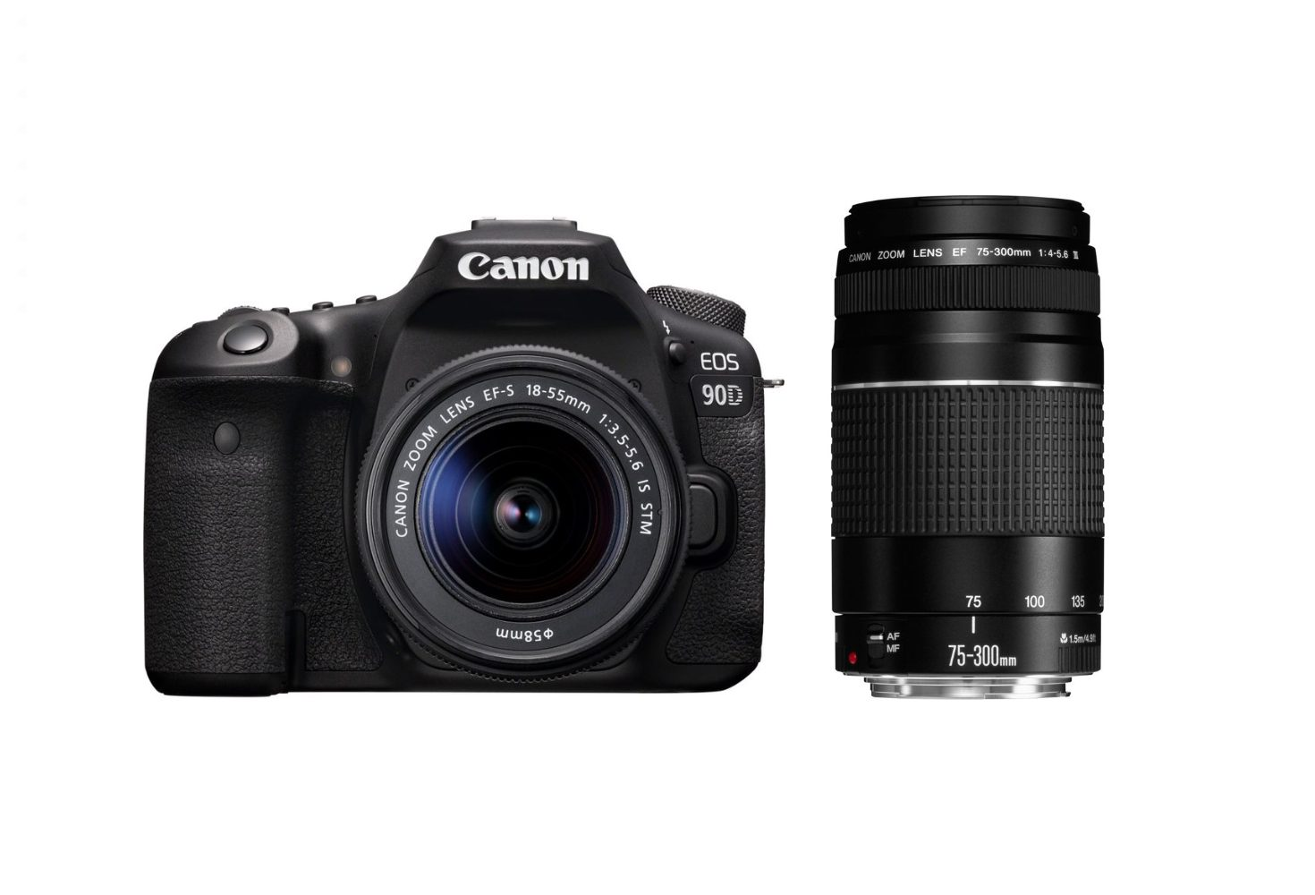 Canon EOS 90D Camera With 18-55mm STM Lens And 75-300MM F/4.0-5.6 III