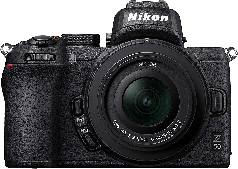 Nikon Z50 Digital Camera With 16-50mm Lens