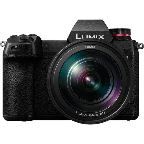 Panasonic LUMIX DC-S1M Camera with 24-105mm F4 Macro Lens