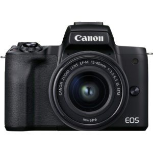Canon EOS M50 MK II Mirrorless 4K With 15-45mm Lens
