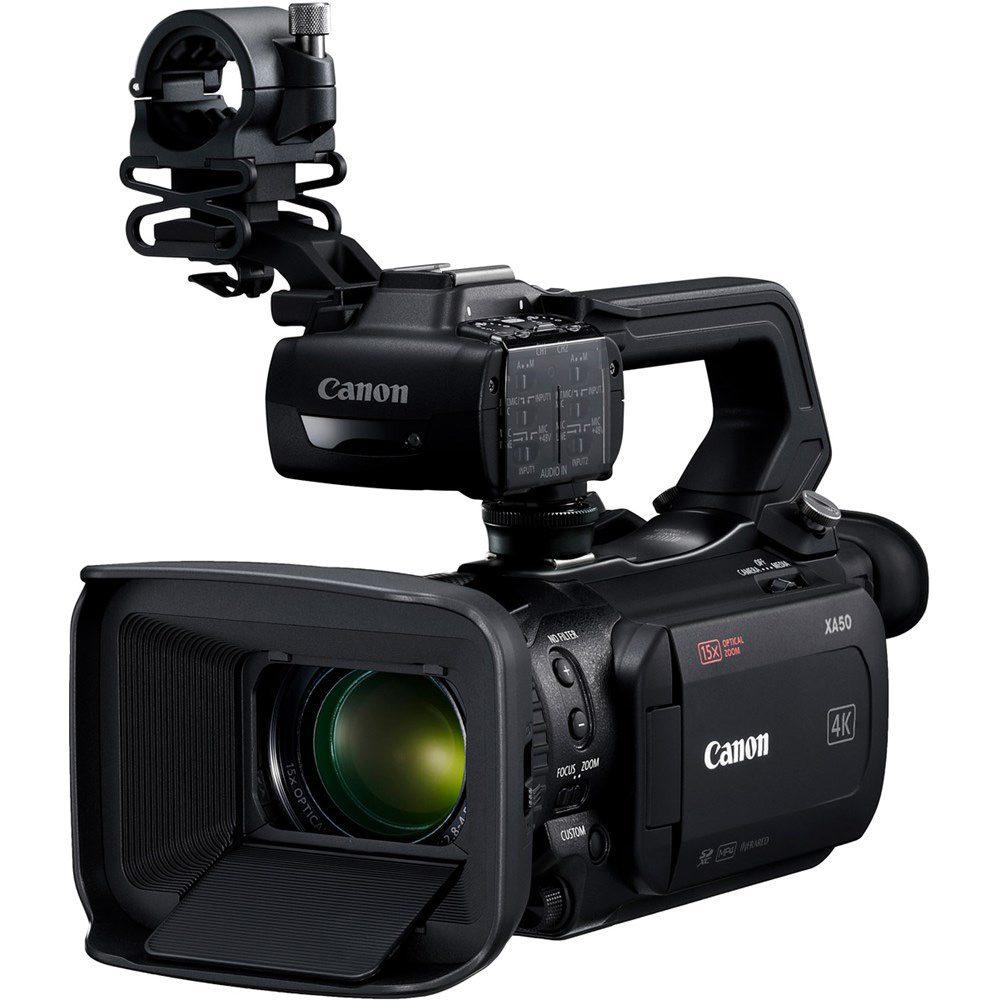 CANON XA50 ULTRA-COMPACT 4K Camcorder