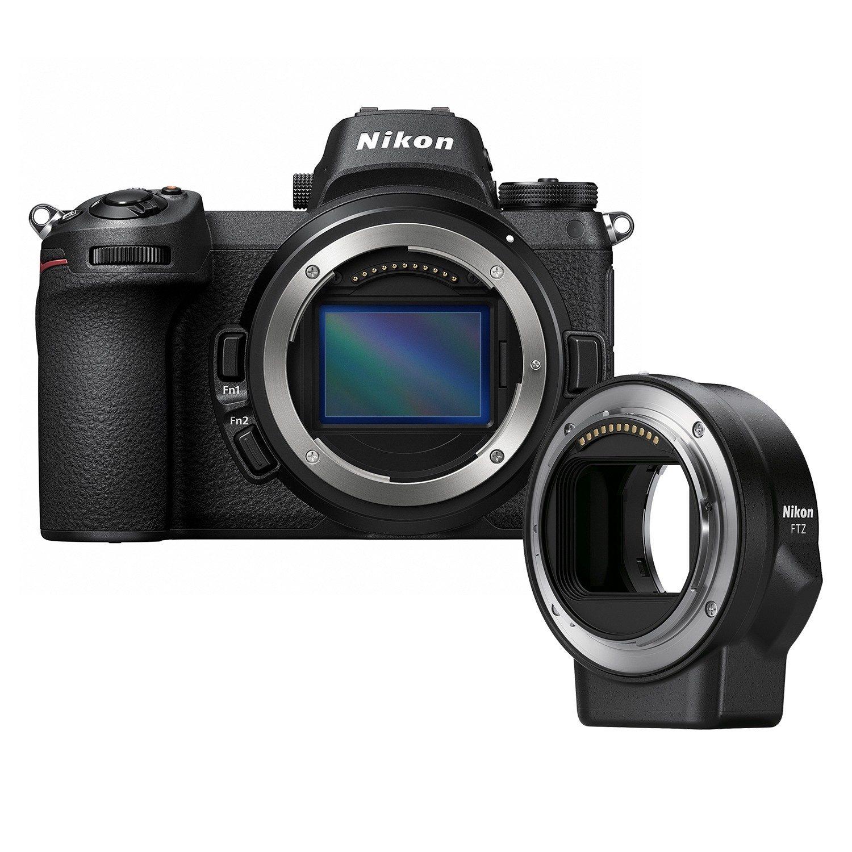 Nikon Z7 Mirrorless Camera Body with FTZ Mount Adapter