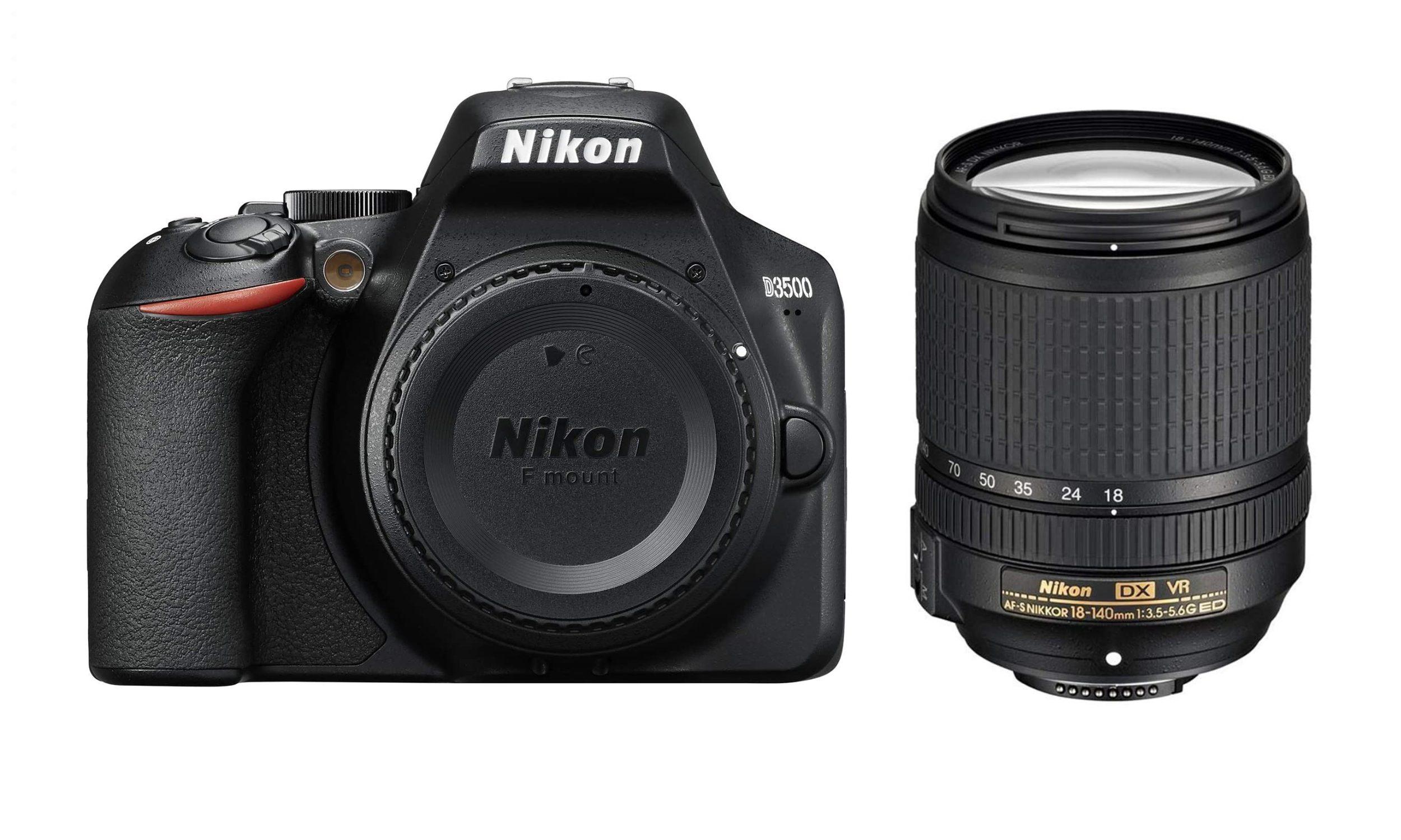 Nikon D3500 DSLR With 18-140mm f/3.5-5.6G ED VR
