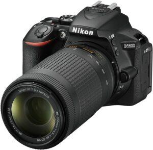 Nikon D5600 With 70-300mm ED VR Lens