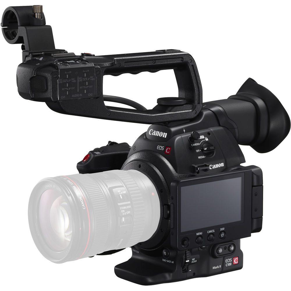 Canon EOS C100 Mark II Cinema EOS Camera Dual Pixel CMOS AF