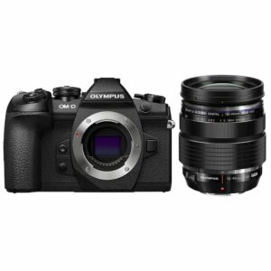 Olympus OM-D E-M1 Mark II Mirrorless Micro Four Thirds Camera with 12-40mm f/2.8 Lens