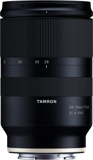 Tamron 28-75mm F2.8 Di III RXD For Sony E