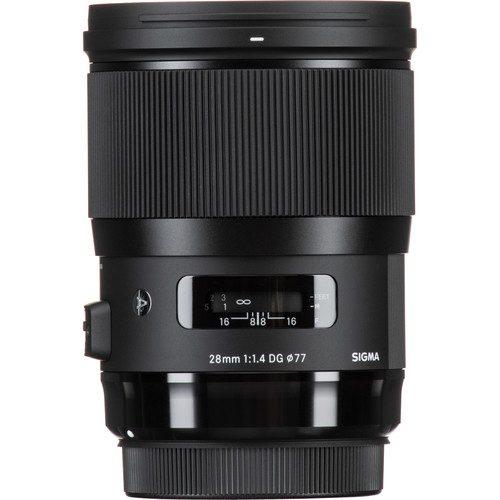Sigma 28mm F1.4 DG HSM | Art For Panasonic L