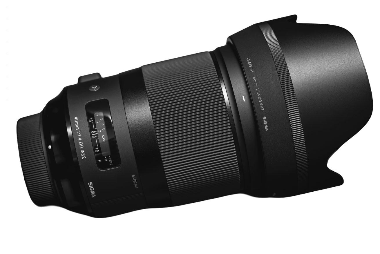 Sigma 40mm F1.4 DG HSM | Art For Panasonic L