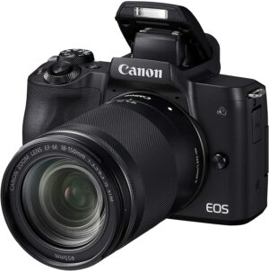 Canon EOS M50 Camera with 18-150mm Lens