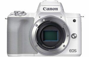 Canon EOS M50 MK II Mirrorless 4K Body - White