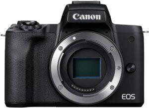 Canon EOS M50 MK II Mirrorless 4K Body - Black