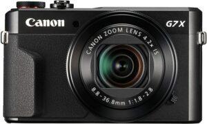 Canon Powershot G7 X Mark II - Black
