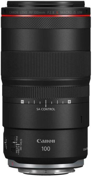 Canon RF 100mm f2.8L Macro IS USM Lens
