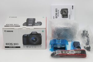 Used - Canon EOS 80D 24.2MP SLR (Body Only)