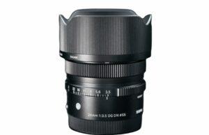 Sigma 24mm f/3.5 DG DN Contemporary Lens - Sony E